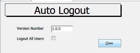 AutoLogout